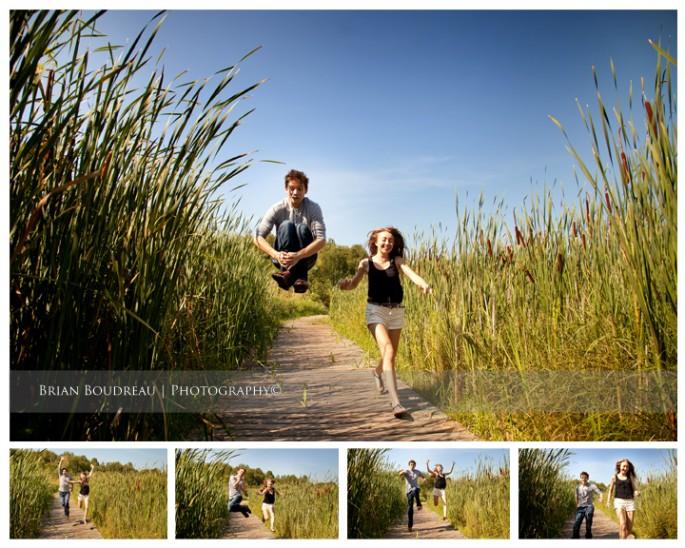 Keegan and Emily