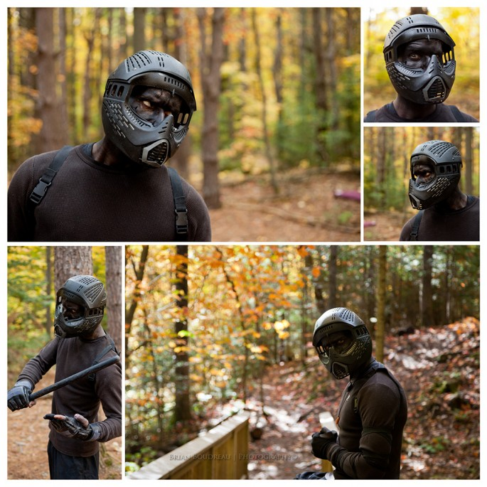 Jesse terrell as Noob Saibot